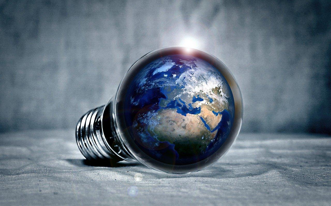 lamp peertje aarde
