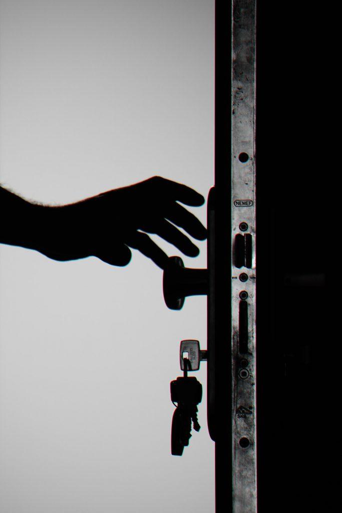 inbreker sleutels