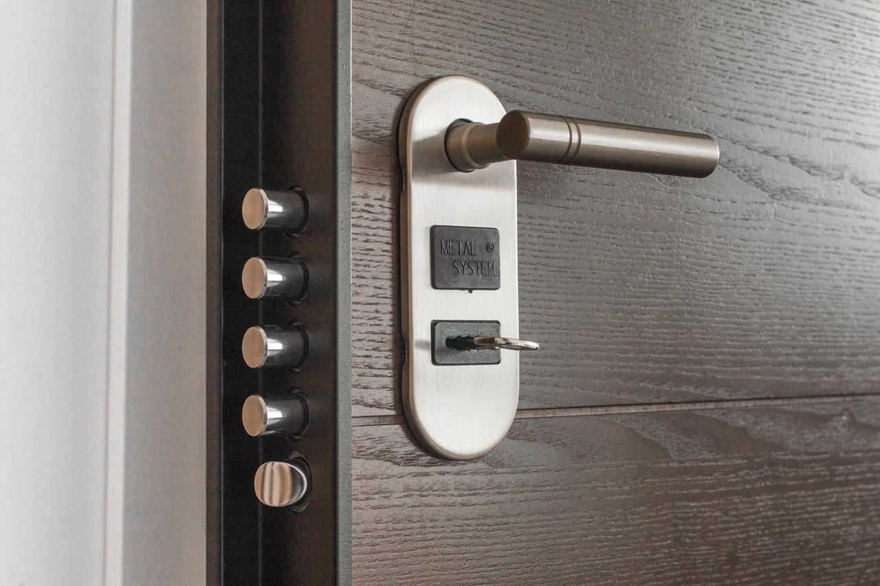 modern slim deurslot